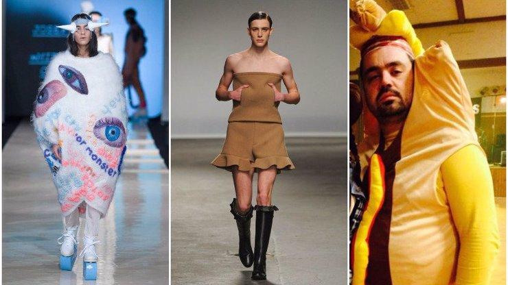 Víte, jak dlouhá je cesta z módního nebe do módního pekla? Prohlédněte si 9 nejbizarnějších kreací z přehlídkových mol, které vám napoví