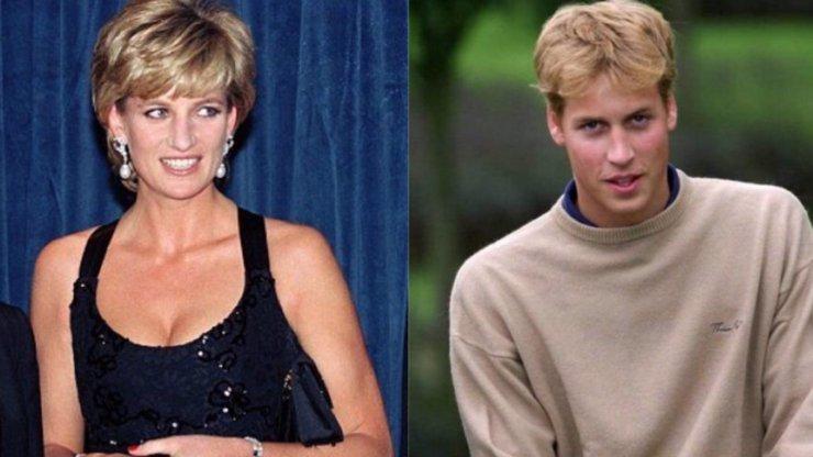 Princ William na škole trpěl: Spolužáci se mu smáli kvůli poprsí princezny Diany