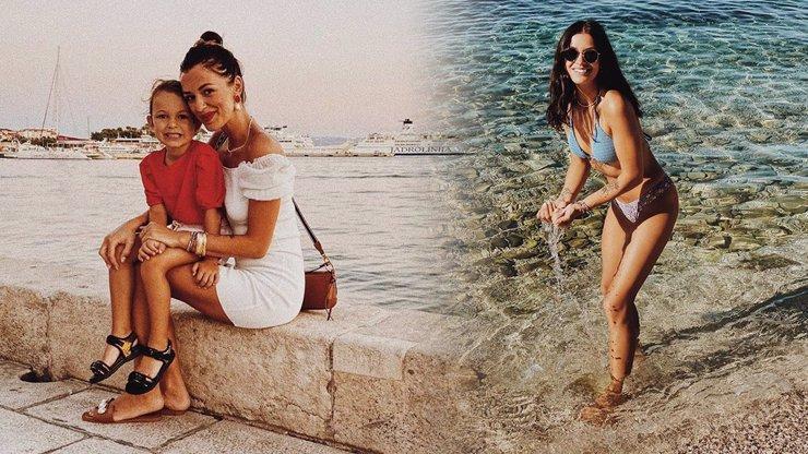 Jitka Boho předvedla krásné tělo v plavkách: Pro dceru Rosálku to byla první dovolená u moře