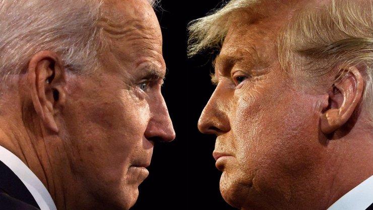 Trump vede v klíčových státech: Padly slovní přestřelky o regulérnosti voleb