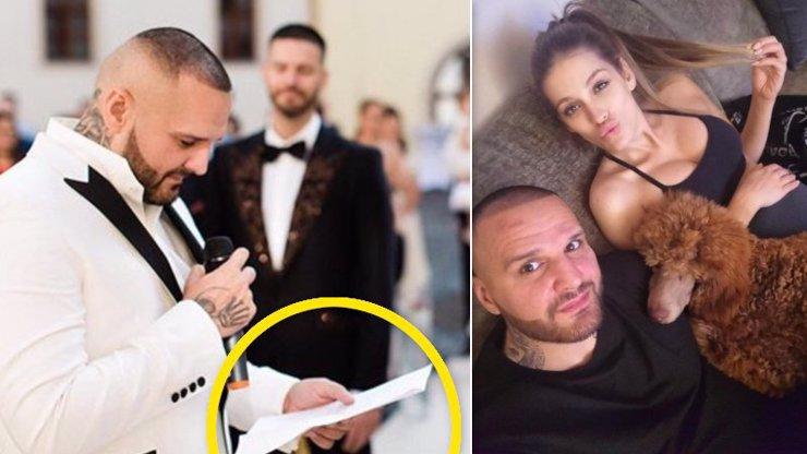 Trapas Rytmuse na svatbě: Jsem ochoten pro tebe zemřít, ale musím to ČÍST Z PAPÍRU