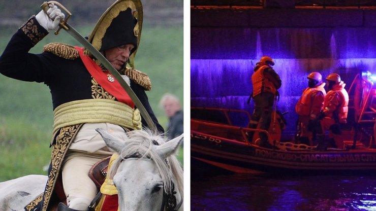Nositel nejvyššího ocenění zmasakroval přítelkyni: Oblečen jako Napoleon měl dvě paže v batohu