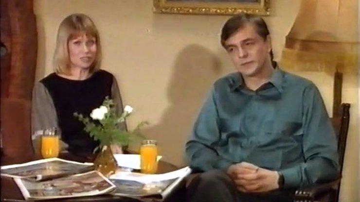 Takhle si Jiřího Bartošku málokdo pamatuje. Video pro školáky z roku 1989, ve kterém varuje před AIDS