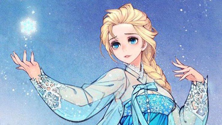Jak by měly vypadat princezny, aby byly dokonalé pro asijský svět?