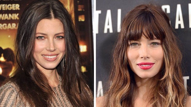 9 celebrit, které omládly a zkrásněly s ostříhanou ofinou