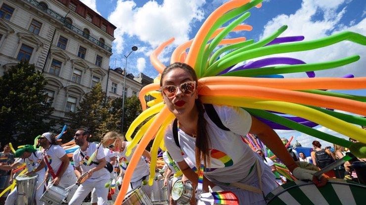 Prague Pride 2018: Pochod hrdosti se mění v politický protest