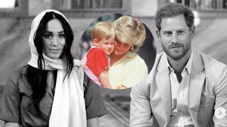 Ničitelka Meghan: Z podivného chování Harryho by byla zdrcená i princezna Diana