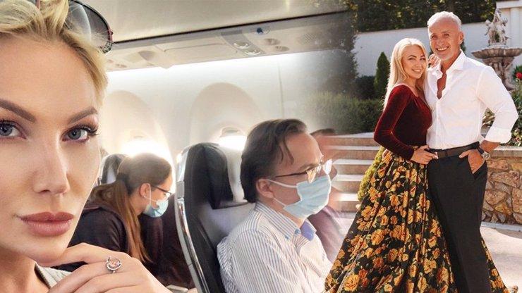 Bývalku boháče Richarda Chlada vyhodili z letadla: Lia Kees odmítla roušku a dostala pokutu
