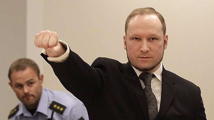 Norský vrah Breivik si změnil jméno: Důvody nechce prozradit