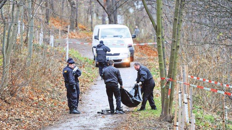 Záhadný nález v lese u Prahy: Našli tam mrtvolu. Byla zcela nahá