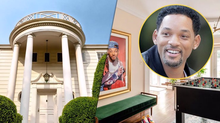 Will Smith umožnil pronájem luxusního sídla z Fresh Prince: Pokoj stojí pakatel