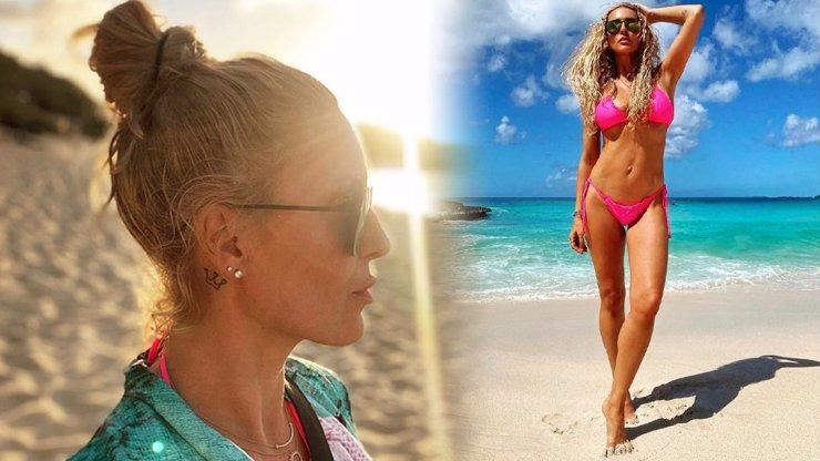 Bohyně z Karibiku: Simona Krainová potěšila fanoušky nádhernými snímky z dovolené