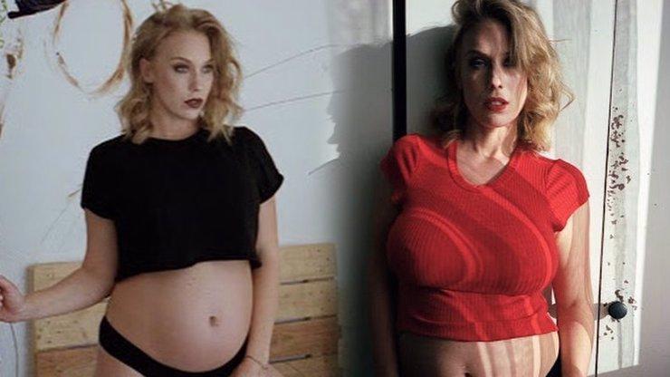 Aneta Krejčíková vytasila těžký kalibr: Nahá a těhotná ve vaně! 8. FOTKA vás položí