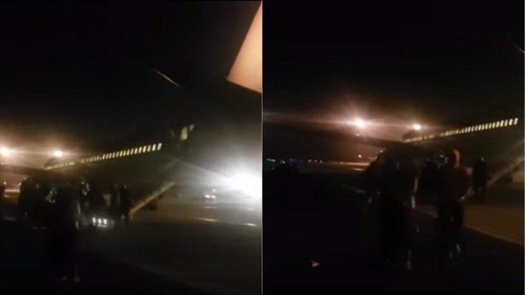 Žena vypadla z letadla na tvrdý beton. Je v umělém spánku!