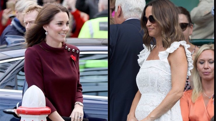 Pippa už se pěkně kulatí: Zatoužila Kate po dalším miminku kvůli sestře?