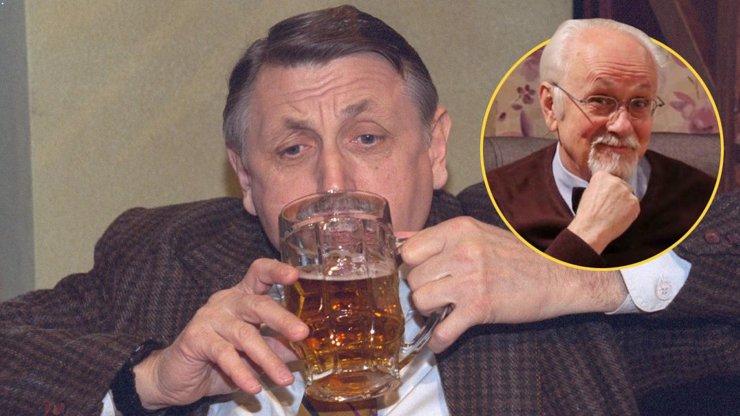 Jiří Menzel (†82) jako doktor Prášek v Hospodě: Nesnášel kouření Potměšila a plival pivo, vzpomíná Knop