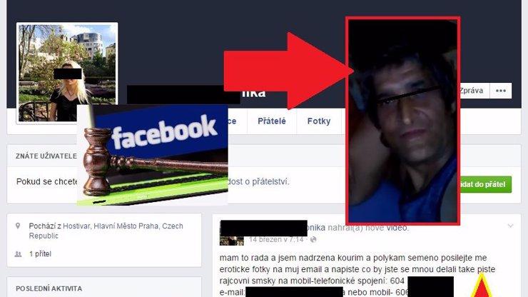 Zoufalec, co ničí život své ex: Zahlcuje Facebook pornem a směje se systému i policii do očí!