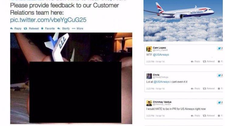 Tak to je gól: Americká aerolinka tweetla zákazníkům pornoobrázek jako omluvu za zpožděný let!
