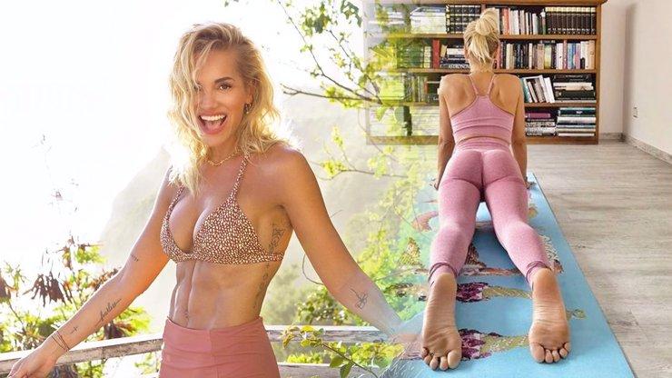 Dara Rolins ukázala pevný zadeček v legínách: Co ty špinavé nohy, smějí se škarohlídi