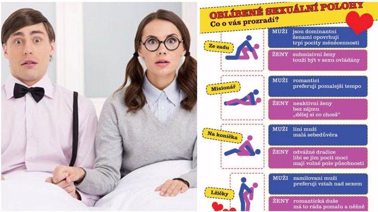 Nejhorší mýty o sexuálních polohách! Podívejte se, co všechno se o sobě dozvíte!