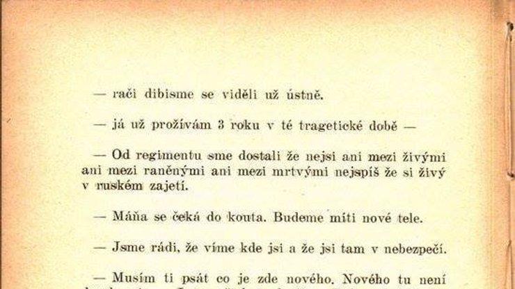 Že jsme dnes negramoti? Příbuzní českých vojáků ve válce by z diktátu dostali kouli!