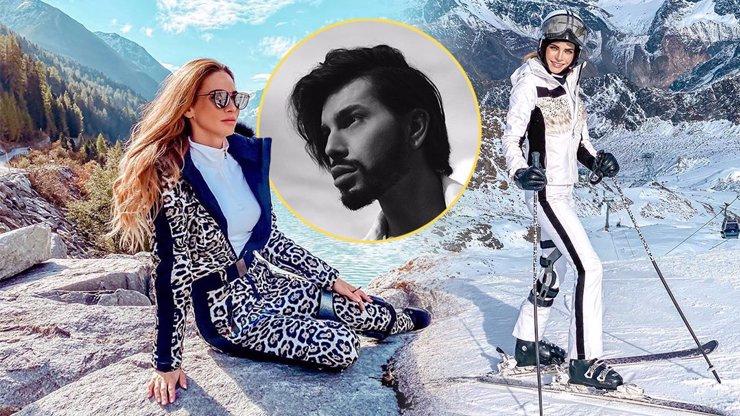 Královna hor Andrea Verešová očima stylisty Sama Dolce: Luxusní zimní výbava za statisíce