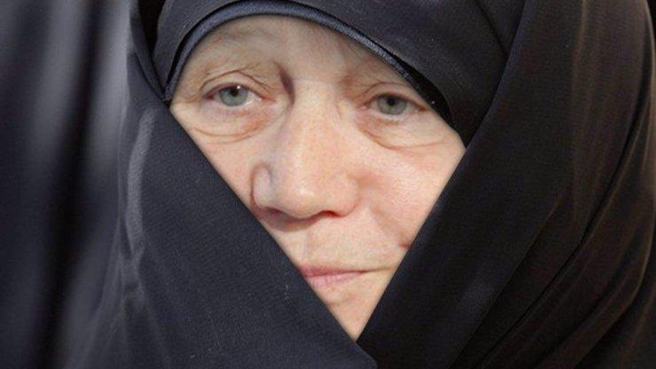 TRESTNÍ OZNÁMENÍ NA ŠABATOVOU! Za provokaci s hidžábem jí hrozí kriminál!