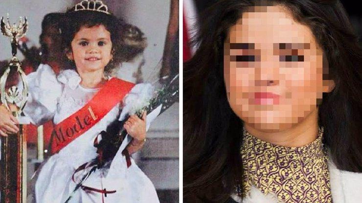 Populární zpěvačka byla nádherná už jako dítě! Tipnete si, kdo vyrostl z okaté princezny?