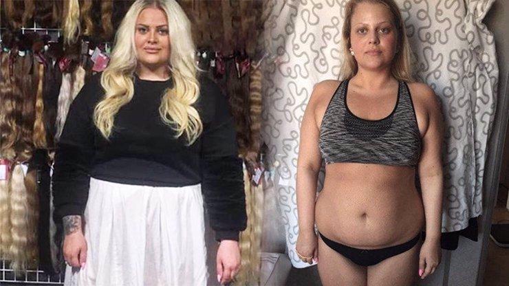Charlotte Štiková a její proměna: Z kulaté blondýny se stala hubnoucí hnědovláska