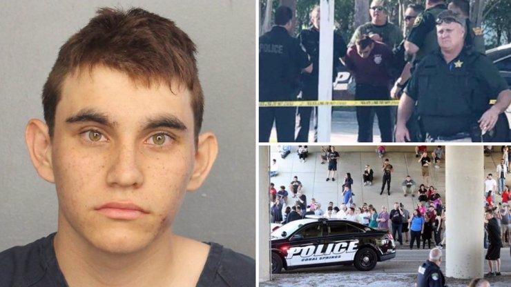 Narušený student, který na Floridě popravil 17 spolužáků: Přišel o oba rodiče a miloval násilí. Máme foto VRAŽEDNÉ ZBRANĚ!