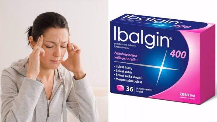 Ibalgin mění složení, lidé teď po požití léku mohou mít problémy