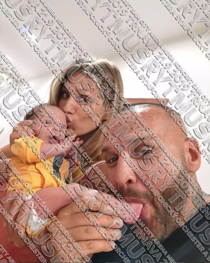 Rytmus a Jasmina poodhalili synovu tvář: Malý Sanel je celý po tatínkovi