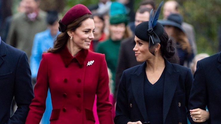 Kate a Meghan na Vánoce jako největší kámošky? Musely to být náročné svátky