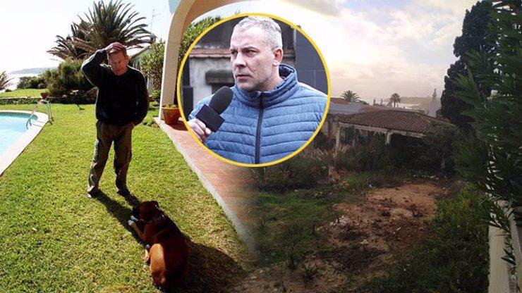 Zbyla jen bolest: Vilu Václava Havla (†75) v Portugalsku pohřbil bagr, zůstaly jen trosky