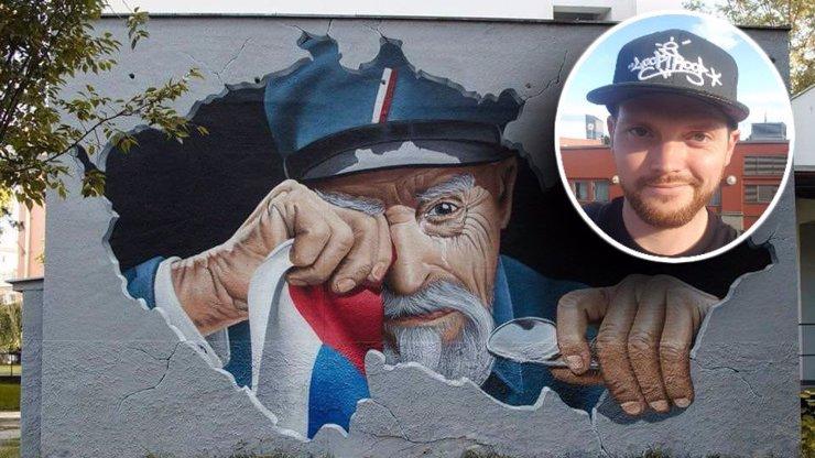 Muž, který namaloval plačícího Masaryka: Zeman je pro mě pouhá karikatura