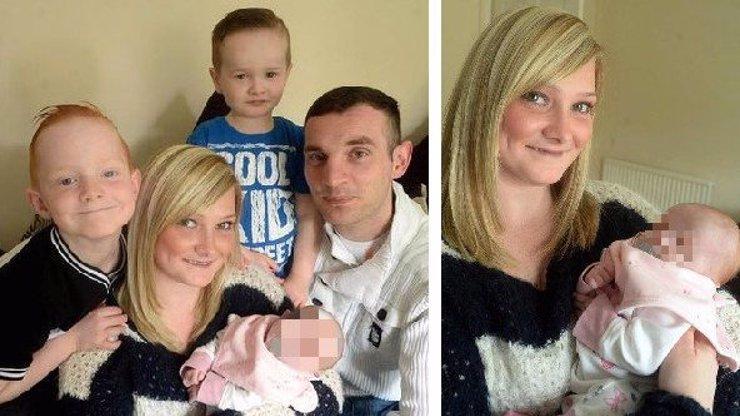 Matka odmítla potrat a porodila holčičku, která nemá oči!