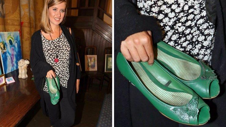 5 VIP trapasů: Emma Smetana dala na charitu boty, ze kterých se chce zvracet, a další