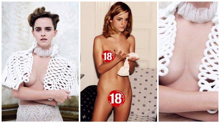 Emma Watson čelí neskutečné KRITICE a můžou za to tyhle NAHÉ FOTKY! Co tisíce žen po světě tak NAŠTVALO?