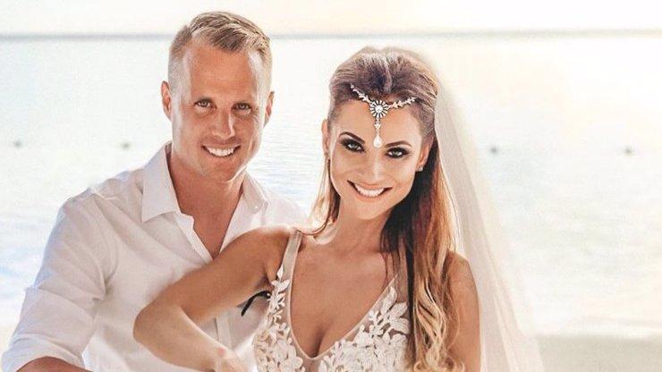Snímky z exotické svatby Davida Limberského: Novomanželka napsala krásný vzkaz