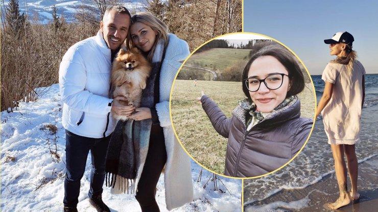 Silvestr v podání českých celebrit: Kdo prchl za teplem, na hory a kdo si užívá tepla domova