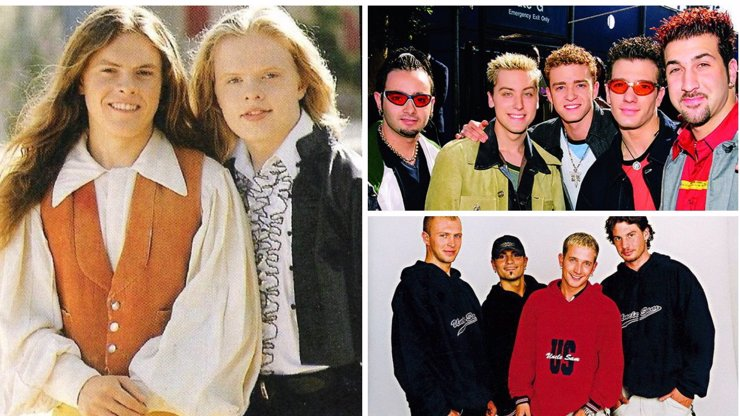5 kapel z devadesátek, u kterých holky šílely