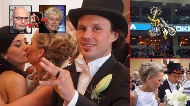 Král freestyle motokrosu Podmol měl tu drzost se oženit! Tohle je jeho vyvolená! Veselku jim chystali zombie Pohlreich a Zapletal!