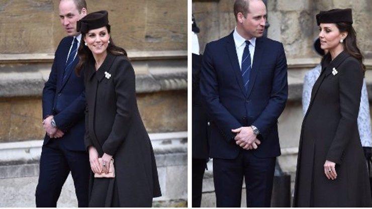 A je to tady! Kate Middleton rodí, třetí dítě bude za chvíli na světě