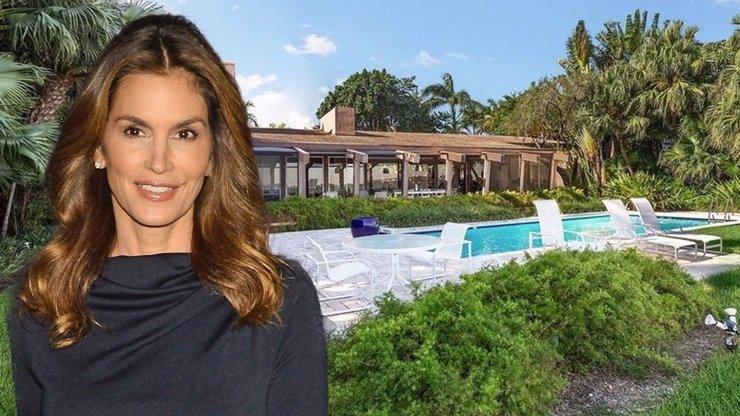 Cindy Crawford si bude žít jako princezna: Koupila luxusní dům u pláže za stamiliony