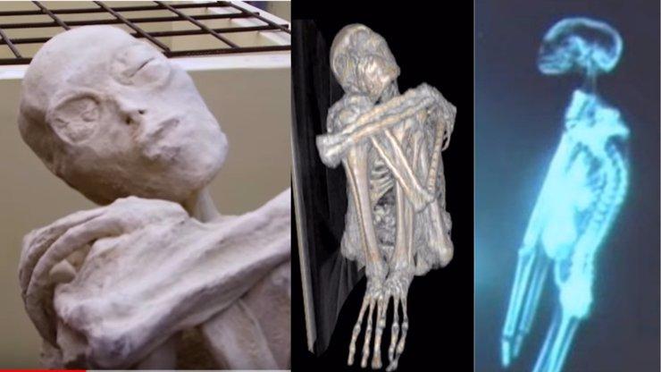 Záhadné mumie s třemi prsty a šišatou lebkou: Jsou to mimozemšťani, tvrdí vědec