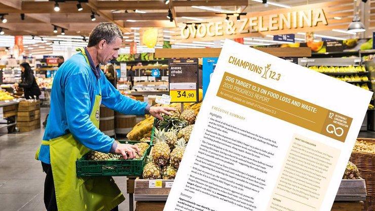 OSN ocenila Tesco za snížení plýtvání potravinami o více než polovinu, také dodavatelé společnosti poprvé zveřejňují svá data o plýtvání