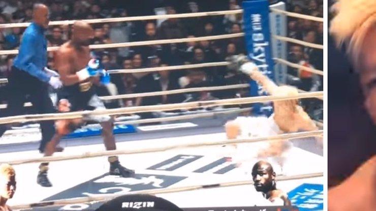 Mayweather řádil v ringu!  Po 139 vteřinách