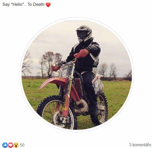 Řekni ahoj smrti, vysmíval se: Lukáš s nápisem hoovado na BMW pokoušel osud už dlouho