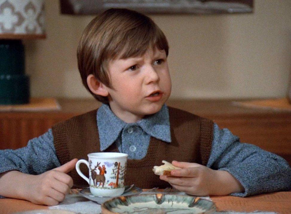 Tomáš Holý byl oblíbený dětský herec.