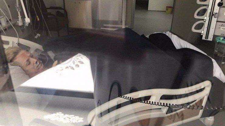 PRVNÍ FOTO z nemocnice! Hana Krampolová vyděsila lékaře svou vyhublou postavou